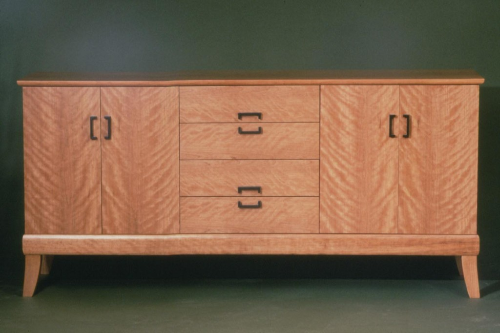 buffet in high figure cherry and ebony010