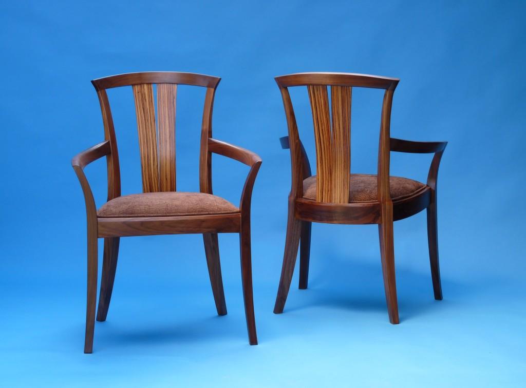 Neo Arm Chairs John Thoe : Neo Walnut and Zebra Grande 1024x756 from www.johnthoe.com size 1024 x 756 jpeg 125kB