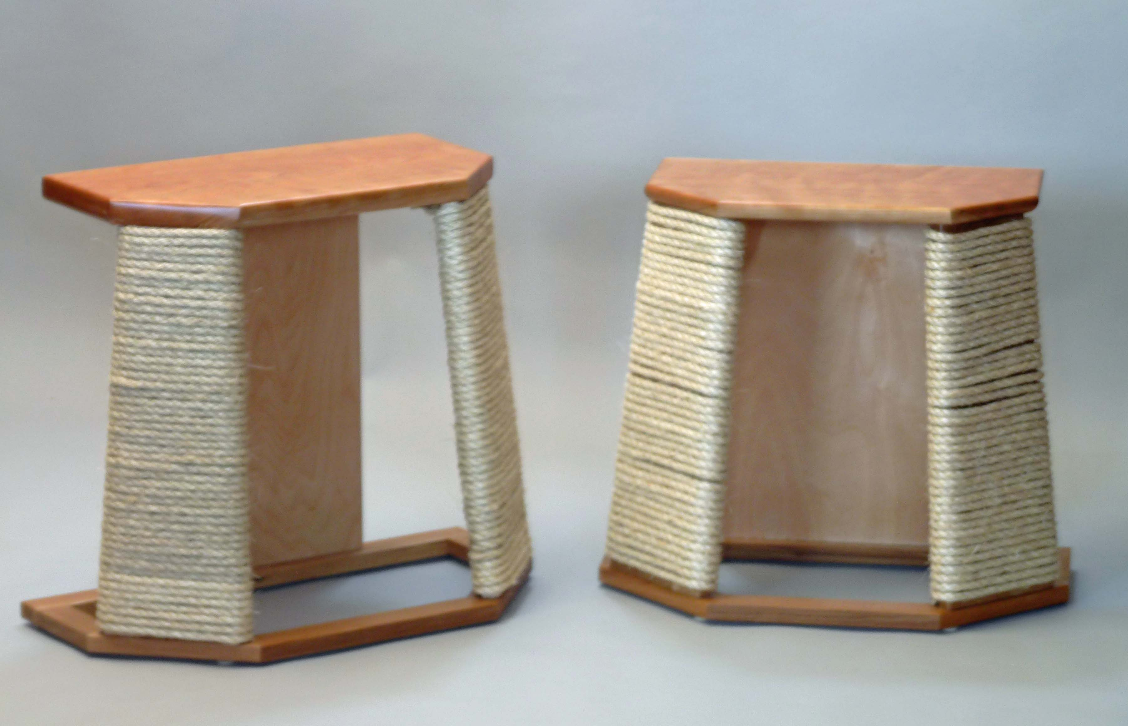 Chester Cat Scratcher End Table John Thoe