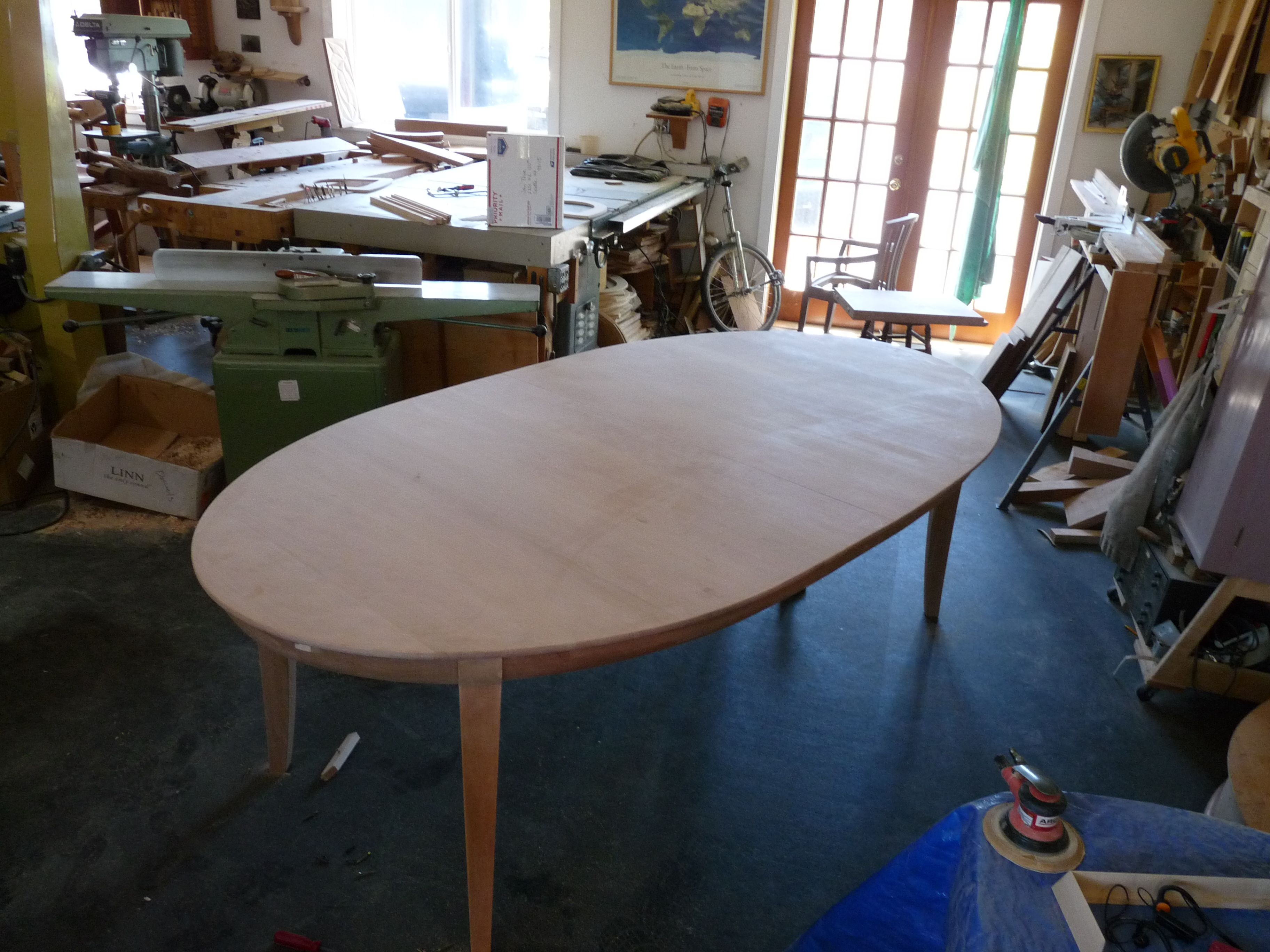Leaf Butterfly Table John Thoe - Dining table with 3 leaves